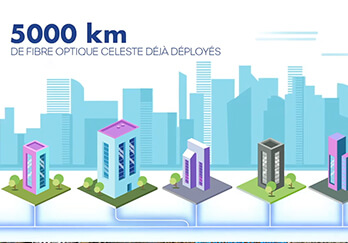 5000 km fibre CELESTE